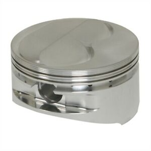 Je Pistons 182027 1r Forged Dome Top Pistons Small Block Chevy 400 Bore 4 155 In