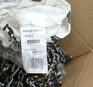 Peerless Security Chain Company Quik Grip V bar Tire Traction Chains Qg2828