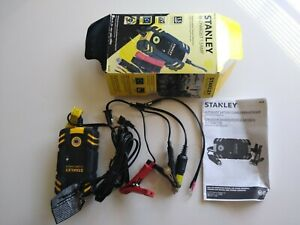 Stanley 1 5 Amp Battery Charger Maintainer For 12v Battery Vehicles Never Used