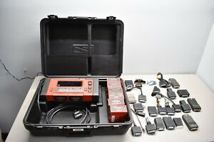 Nice Working Snap On Mtg25020 Graphing Scanner Obdii 8 Carts Dom For Adapters