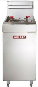 Vulcan Lg 300 Commercial Floor Standing Gas Deep Fryer Local Pickup