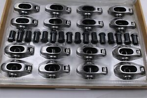 Sb Chevy Roller Rocker Arms 1 6 Ratio 3 8 Studs Stainless Steel 400 350 327 305