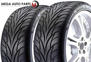 2 Federal Ss595 Ss 595 275 40zr18 99w Bsw All Season Uhp High Performance Tires