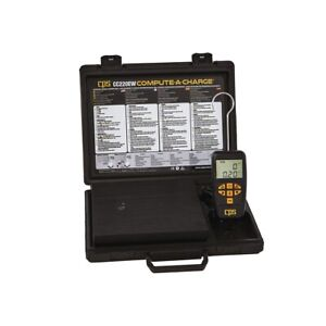 Electronic Refrigerant Scale Cps Products Cc220ew