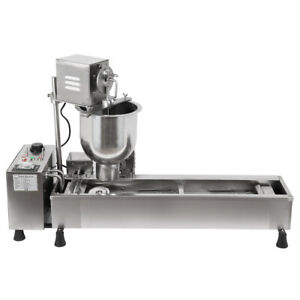 Commercial Automatic Donut Maker Machine Wide Oil Tank 3 Size Free Donut Mold