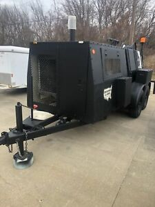 Sewer Equipment Company Of America Seca 747 Trailer Jetter
