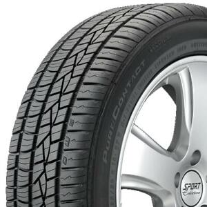 4 Four 205 60r16 Continental Purecontact Ls 15508120000 Tires