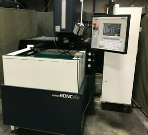 Makino Ednc 43 4 axis Sinker Edm Atc Very Low Hours Tooling Chucks Loading