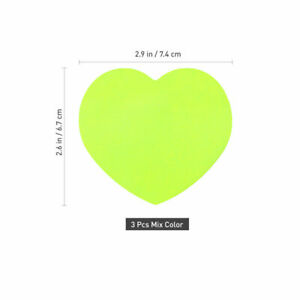 Ne 10pcs Sticky Pads Self adhesive Portable Cute Green Protection
