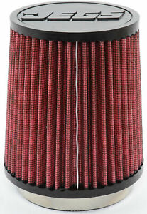 Jegs Performance Products 50704 Cone Air Filter Universal Fit 4 Flange I D X 5