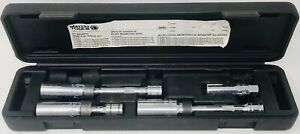 Matco Spk5 5pc Magnetic Spark Plug Service Set 4pcs Only Read 1st