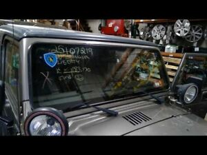 Windshield Glass And Frame Fits 97 02 Wrangler 665843