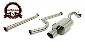 Yonaka 2 5 Piping 06 11 Honda Civic 2dr Coupe Exhaust Dx Ex Lx 1 8l