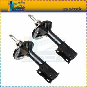 For 2002 2005 Mitsubishi Lancer 2 0l New Front Pair Gas Charged Struts Shocks