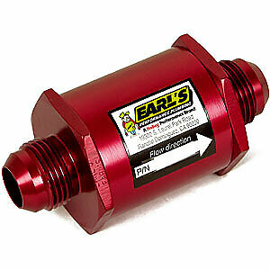 Earl s 230316 In line Screen Type Oil Filter