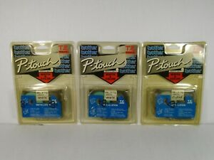 3 Brother P touch Tz Tape Labels tz251 X2 Tz151 X1 worn Packaging Sealed