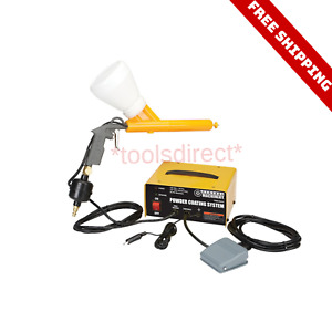 Powder Coating System Home Shop Auto Body Portable Coat Machine Paint Gun