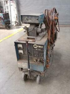 Miller Mp 30e Cv Potential Dc Arc Welding Machine With Mig Feeder Long Hoses