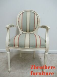 Ethan Allen Swedish Homes Painted Living Room Lounge Arm Chair French A