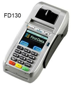 New Fd130 Terminal With Emv nfc wifi Fd Encrypted Free Shipping