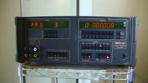 Datron 4000a Autocal Standard For Parts Not Working