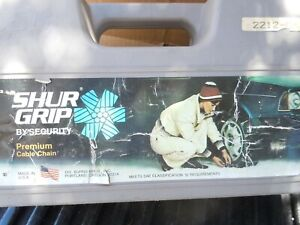 Sure Grip By Scc Traction Cables Security Chain Mud Snow Ice 2212 Cm Usa 6