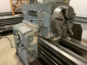 American Pacemaker 30 X 120 Style F Lathe Engine