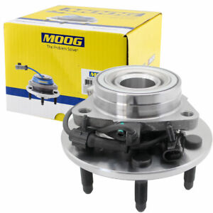 Moog Front Wheel Bearing Hub Assembly Gmc Chevy Silverado 1500 4x4 6 Lug