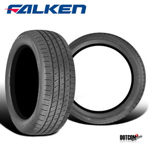 2 X New Falken Ziex Ct60 215 60r17 100v All Season Traction Tires