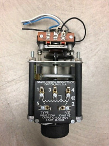 Staco Variable Transformer Type 501