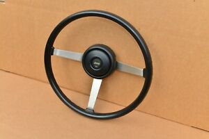 Amc Jeep Wagoneer 87 95 Wrangler 76 86 Cj5 Cj7 Cj8 J10 J20 Steering Wheel Black