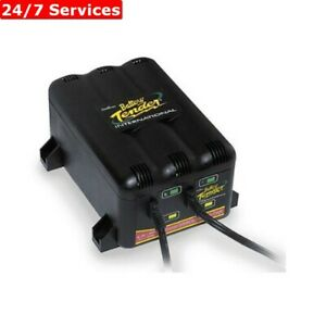 Battery Tender 2 bank 12v Motorcycle Battery Charger 022 0165 dl wh