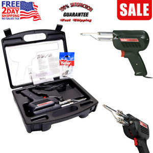 Professional Soldering Gun Kit With Three Tips And Solder In Carrying Case 200w