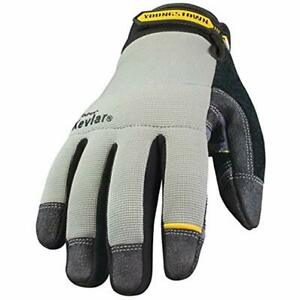 Safety Work Gloves Youngstown 05 3080 70 xl General Utility Lined With Kevlar