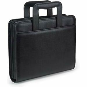 Portfolio Case Ring Binders Samsill Professional Padfolio With Zippered 2
