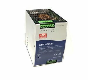 Meanwell Wdr 480 24 24v 480w Dc Power Supply
