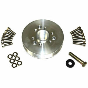 The Blower Shop 4228 Accessory Pulley Small Block Chevy Diameter 6 0 6 rib