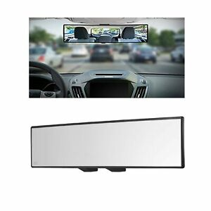 Car Universal Rearview Mirror Interior Clip On Panoramic Rear View Mirrors Wide