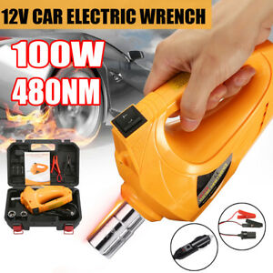 Meco 100w Car Electric Impact Wrench Driver 480nm Change Tire Repair Tool