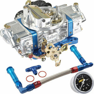 Holley 0 86670blk Ultra Street Avenger Carburetor Kit 670 Cfm Vacuum Secondary E