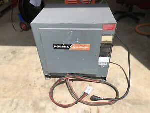 Hobart Accu Charger 36 Volt 1050 Amp For Industrial Battery W 250ccll Auto Stop