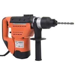 1 1 2 110v 900rpm Sds Plus Steel Rotary Hammer Drill Carry Case Electric Tool