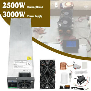 3000w 50a Power Supply 2500w Zvs Induction Heating Board Heater Copper Coil