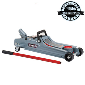 2ton Floor Jack Aluminum Steel Low Profile Quick Pump Lifting Car Garage Vehicle