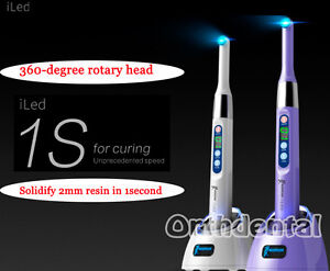 Woodpecker Dental Iled Wireless Curing Light Lamp 1 Second Curing 2300mw c Orig