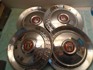 1954 Ford Hubcaps 15 Wheel Covers Factory Set Of 4 Caps Used Condition Fd54wc