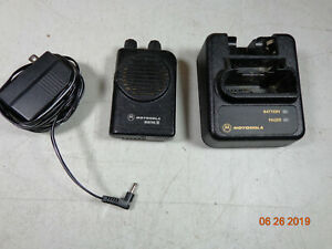 Motorola Minitor Iv Uhf Fire Dept Pager 2 Channel 416 150 A04kus7238ac