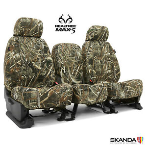 New Custom fit Neosupreme Camo Seat Covers Realtree Max 5 Solid Made in usa