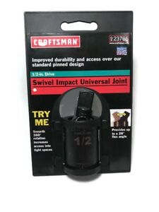 Craftsman 1 2 Drive Pinless Impact Universal Swivel Joint Made In Usa 9 23765
