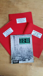 Bucyrus 22w Water Well Drilling Cable Tool Manual Brochure Parts Catalog